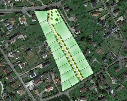 Terrain à vendre à Le Bosc-Roger-en-Roumois - Lotissement rue de Marouse